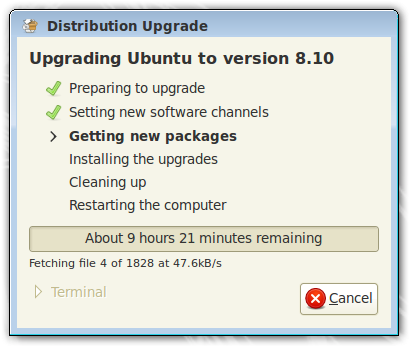 Upgrading to 8.10